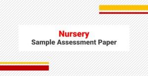 SAMPLE PAPERS NURSERY