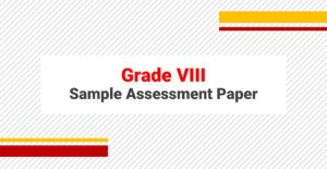 Sample Papers for Grade VIII