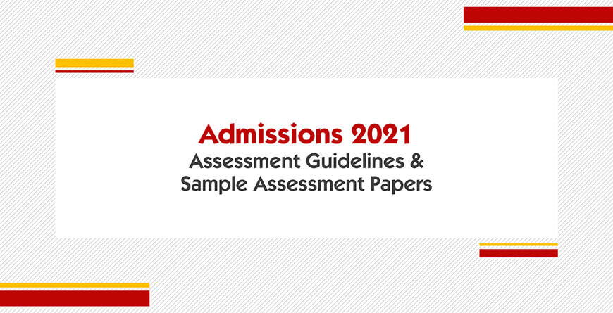 Guidelines & Sample Papers