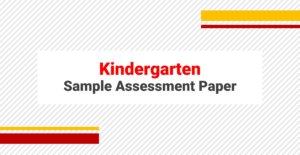 SAMPLE PAPERS KINDERGARTEN