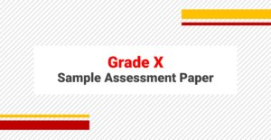 Sample Papers Grade X