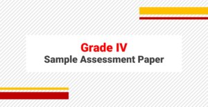 SAMPLE PAPERS GRADE IV
