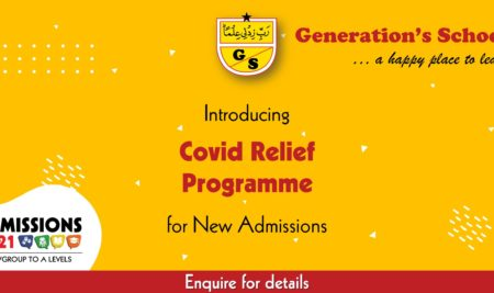 Generation's Covid Relief Programme