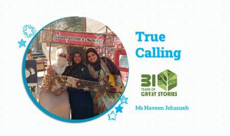 True Calling by Ms Naveen Jehanzeb