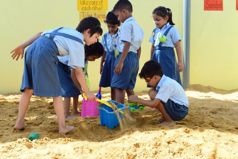 Nature Area at Generation's School