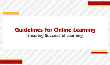 Guidelines for Online Learning