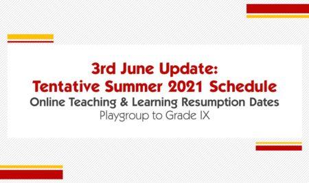 Online Teaching & Learning Resumes Mon 07 Jun, insha'allah